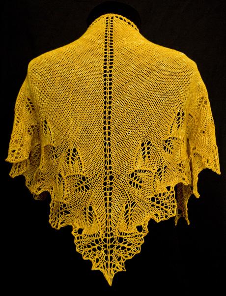 Ginkgo Leaf Knitting Pattern : Lazy Daisy Knits by Amanda: Some great free patterns